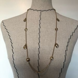 Kate spade gold necklace